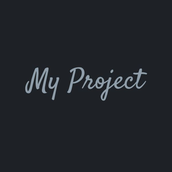 My Project my-project